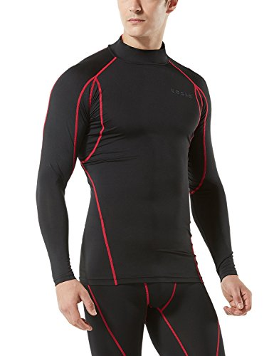 (テスラ)TESLA 長袖 ハイネック スポーツシャツ [UVカット・吸汗速乾] コンプレッションウェア パワーストレッチ アンダーウェア T12 / MUT02/ MUT12
