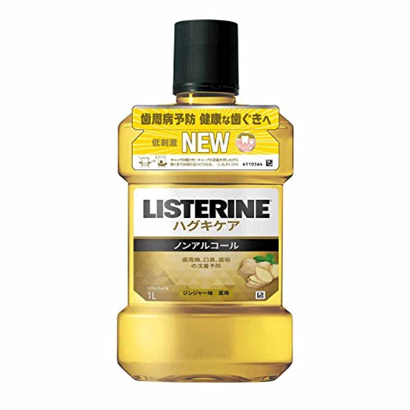 朝万一に備えて銅[医薬部外品] 薬用 リステリン マウスウォッシュ ハグキケア 1000mL ノンアルコールタイプ
