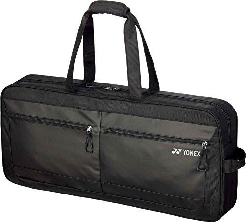 ヨネックス(YONEX) テニス トートバッグワイド (テニスラケット2本用) ブラック(007) BAG1851W