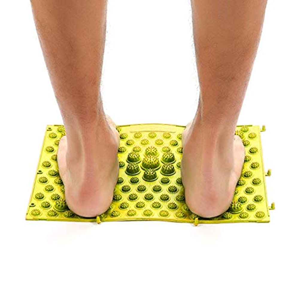 廃棄極めて重要な円形のAcupressure Foot Mats Running Man Game Same Type Foot Reflexology Walking Massage Mat for Pain Relief Stress Relief...