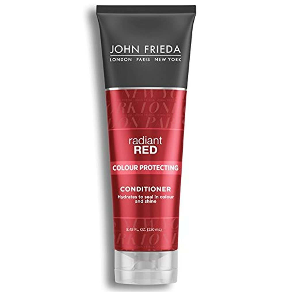 ネックレット証明するによってJohn Frieda Radiant Red Colour Magnifying Conditioner 250ml