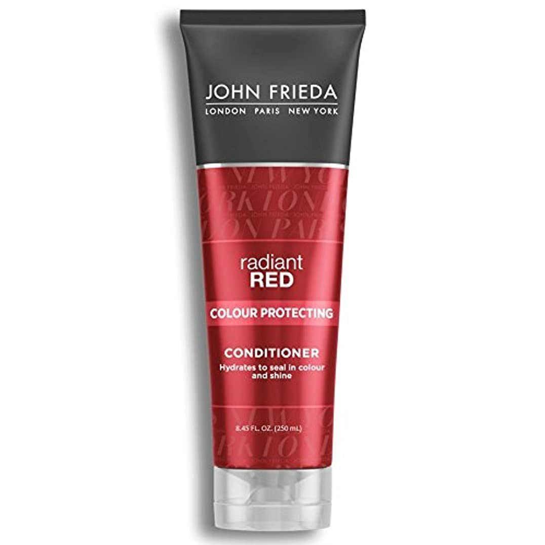 水を飲む座標憧れJohn Frieda Radiant Red Colour Magnifying Conditioner 250ml