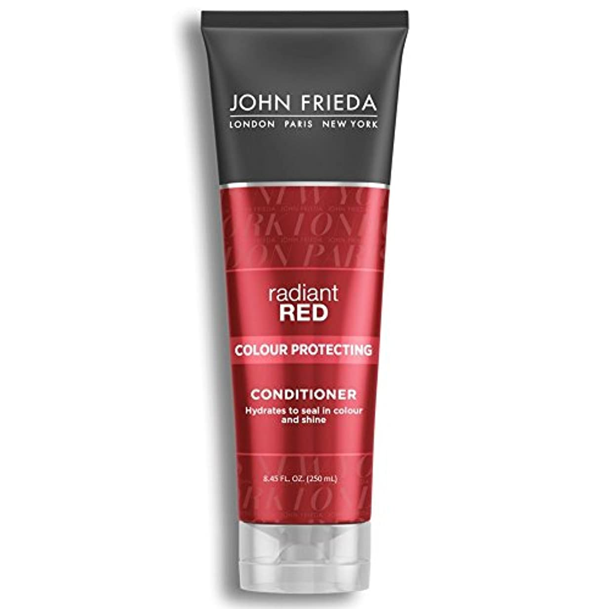 バレエ設計不良品John Frieda Radiant Red Colour Magnifying Conditioner 250ml