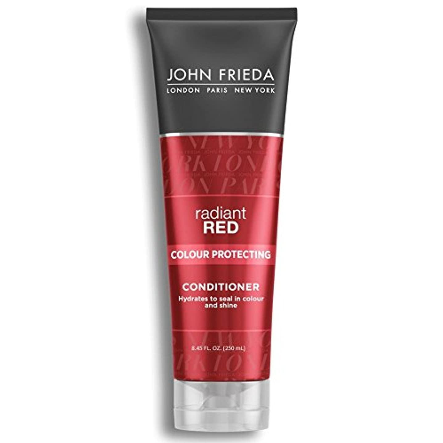 巻き戻すアセンブリアプライアンスJohn Frieda Radiant Red Colour Magnifying Conditioner 250ml