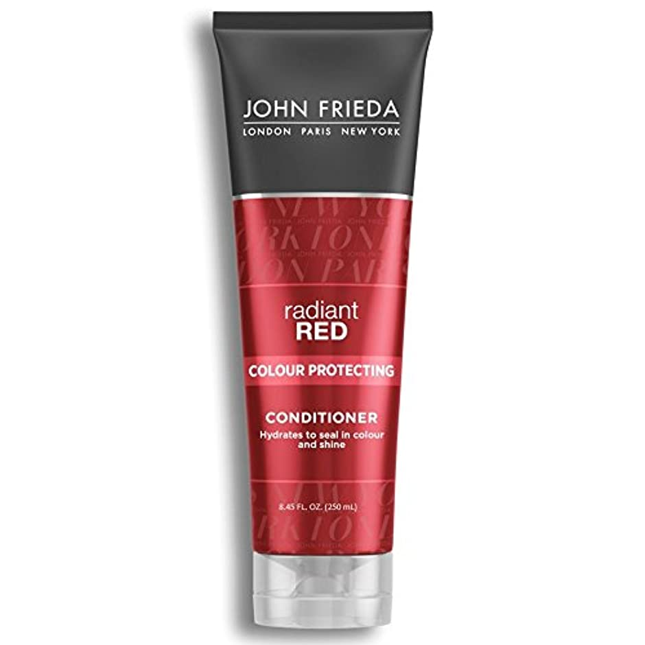 中国水曜日地理John Frieda Radiant Red Colour Magnifying Conditioner 250ml