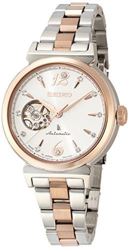 [ルキア]LUKIA 腕時計 メカニカル 自動巻(手巻つき) サファイアガラス 日常生活用強化防水(10気圧) SSVM010 レディース