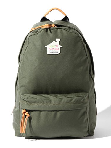 9a2e9600ffe1 (メリアビームス) Merrier BEAMS × KID'S PACKERS キッズパッカーズ 【別注】 リュックサック 仕切り付き マザー バッグ  500D DAY PACK 67610012934 ONE SIZE グリーン