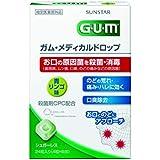 [指定医薬部外品] GUM(ガム) メディカルドロップ 青リンゴ味  <口臭除去?のどの荒れ、痛み、ハレ対策>