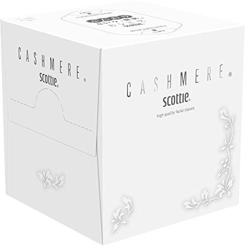 【ケース販売】 スコッティ カシミヤ ティシュー キューブ 160枚 (80組) ×12箱入り