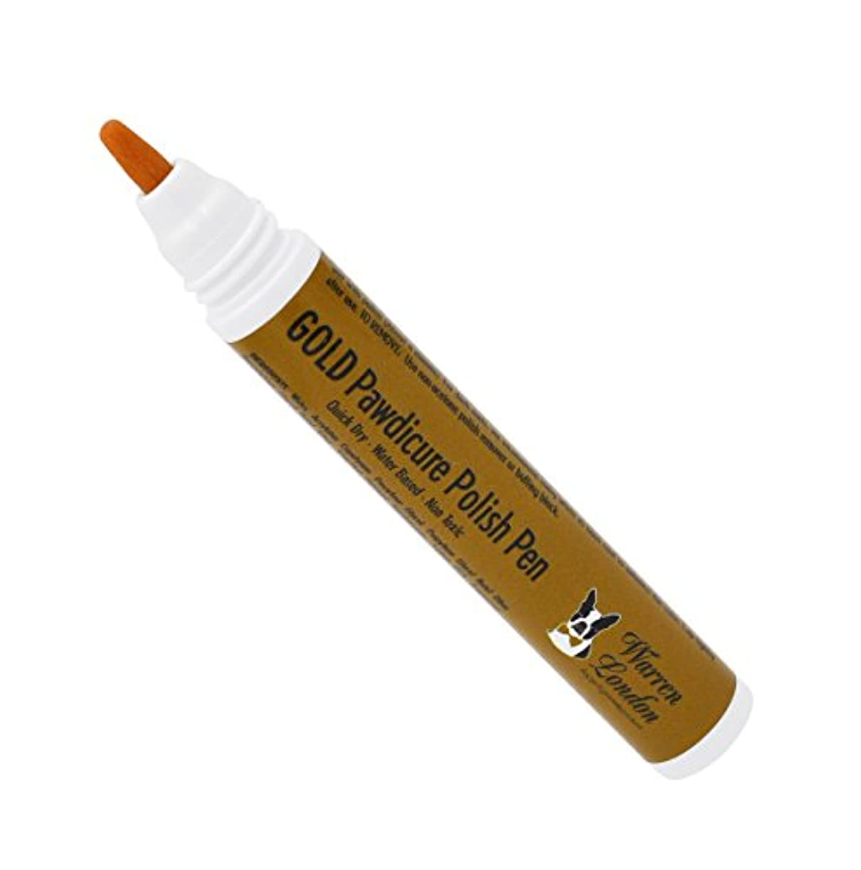 クライアントケイ素正確さWarren London Pawdicure Polish Pen for Dogs, Gold by Warren London