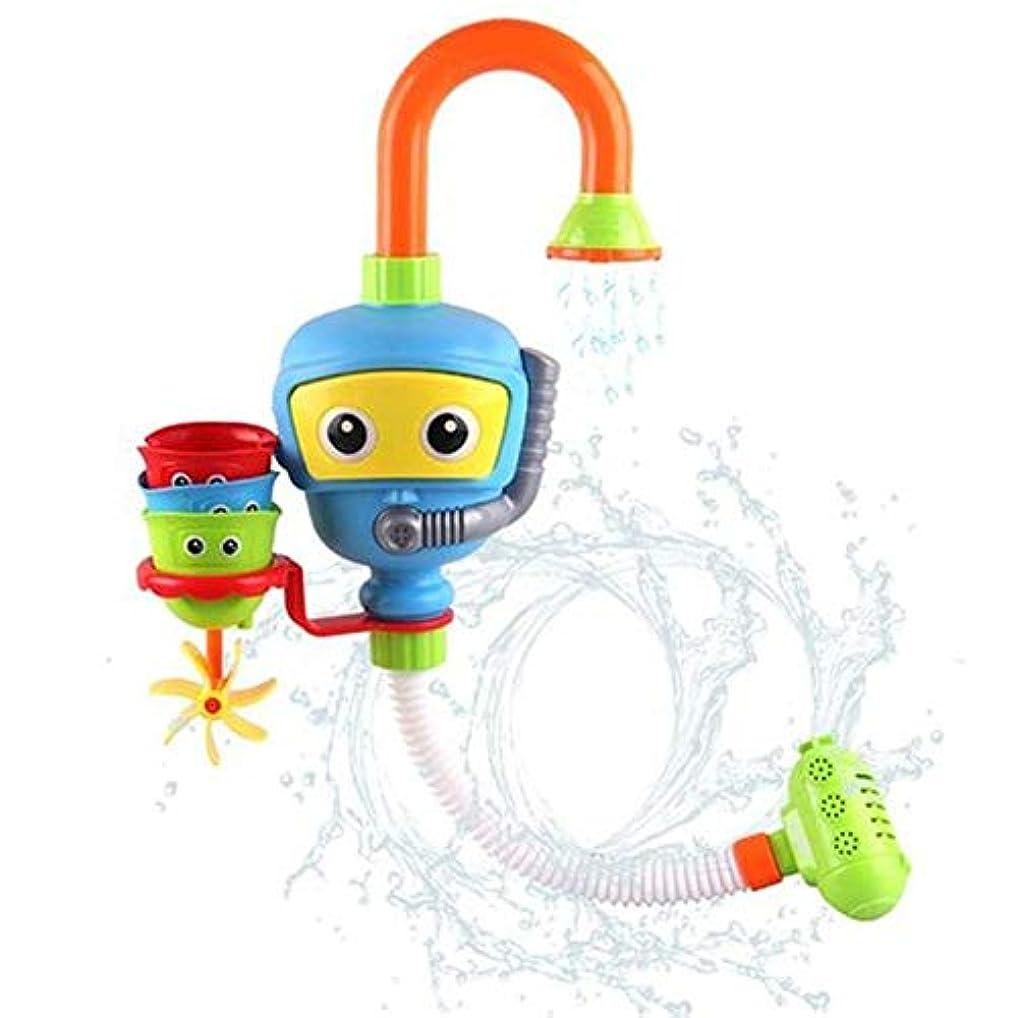 見て意気揚々ベールシャワー浴室ダイバー玩具キッズギフトABSバース玩具散水のおもちゃのためのベビーバスツールバスタブアクセサリーシャワースプレー水のプレイゲーム