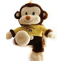 ぬいぐるみ サル/さる/猿 3色 80cm★大きいぬいぐるみ☆ サル 猿人 プレゼント/イベント/お祝い贈り物/誕生日プレゼント (ブルー)