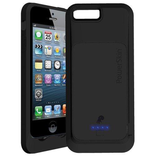 オーセラスジャパン モバイルバッテリーケース PowerSkin for Apple iPhone5 ブラック 1_AP1529IP_JP