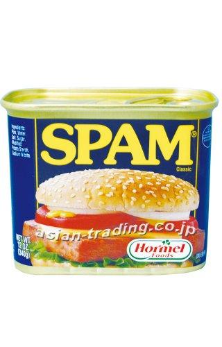 【24缶入りケース販売】 SPAM CLASSIC スパム レギュラー 340g x 24缶