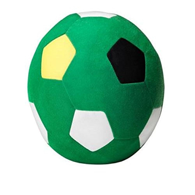 サッカーボール子供物理StuffedサッカーグリーンボールソフトおもちゃSparka新しい