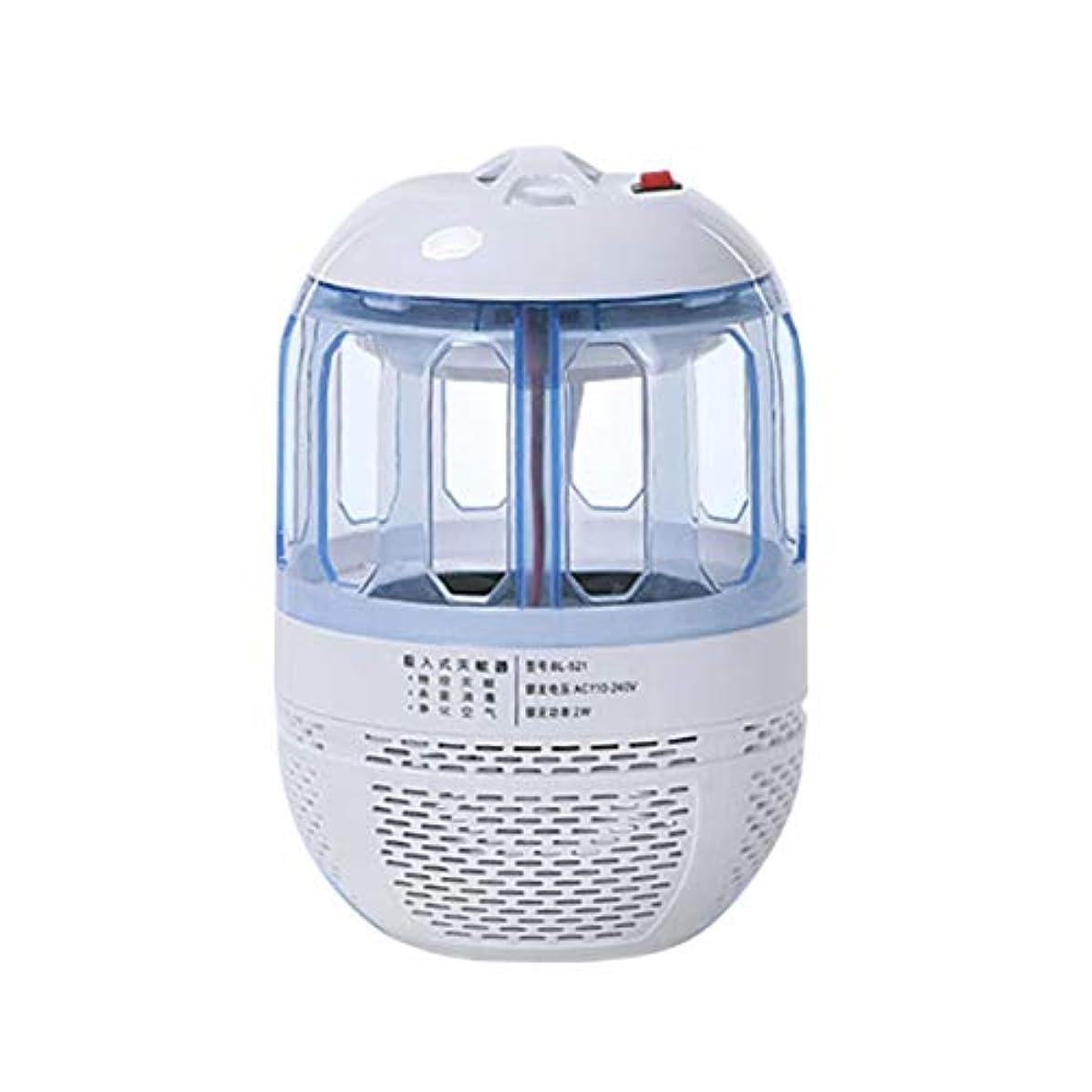 Saikogoods 超静音電子モスキートキラー光触媒ライトバグ昆虫キャッチャーUSB電源非放射線モスキートトラップ 白