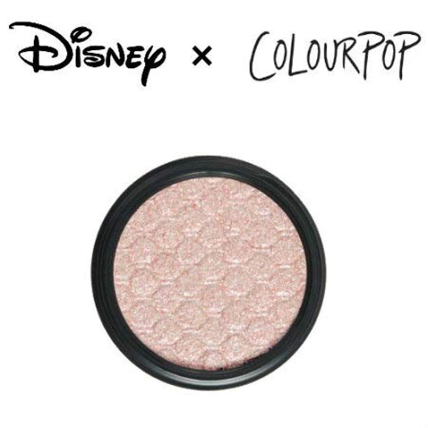 慢な散る維持するカラーポップ COLOURPOP x DISNEY ディズニー プリンセス アイシャドウ HEIGH-HO(アイボリーパール)