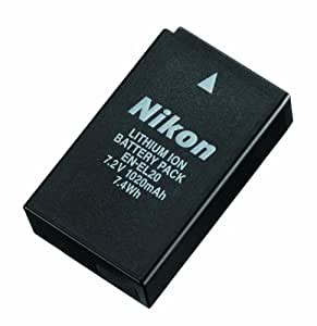 Nikon Li-ionリチャージャブルバッテリー EN-EL20