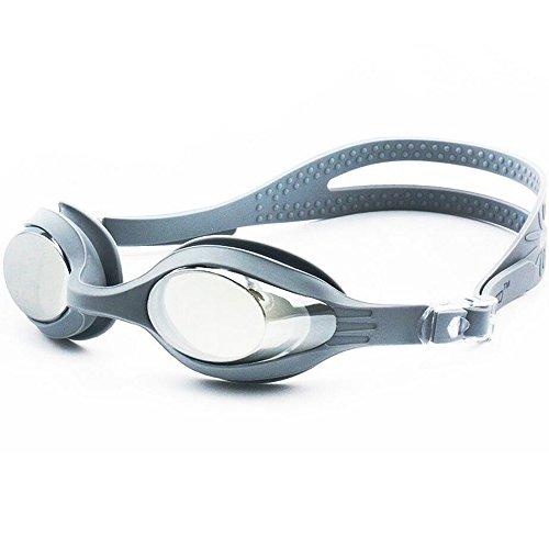 [해외]X.A 수영 고글 수영 고글 미러 고글 김서림 방지 부드러운 실리콘 쿠션 자외선 차단 벨트 조절 가능 고글 케이스 귀마개있는 남녀 겸용 프리 사이즈/X.A Swimming goggles Swim goggles Mirror goggles Anti-fogging soft silicone cushioned with u...