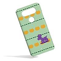 KEIO ケイオー isai Beat LGV34 カバー ハード プードル isaibeat プラスチック 犬 イヌ ドッグ isai ケース Beat ケース LGV34 ケース 紫 風船 トイプードル 緑黄 イサイ ハードケース ビート ハードケース プロ ハードケース dhwc紫風船トイプードル緑黄h0649