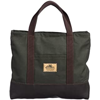 Carry All Bag with Zip L: Olive