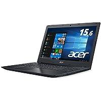 Acer ノートパソコンAspire Core i5-7200U/15.6インチ/8GB/256G SSD/DVD±R/RW ドライブ/Windows 10/ブラック E5-576-F58U/K