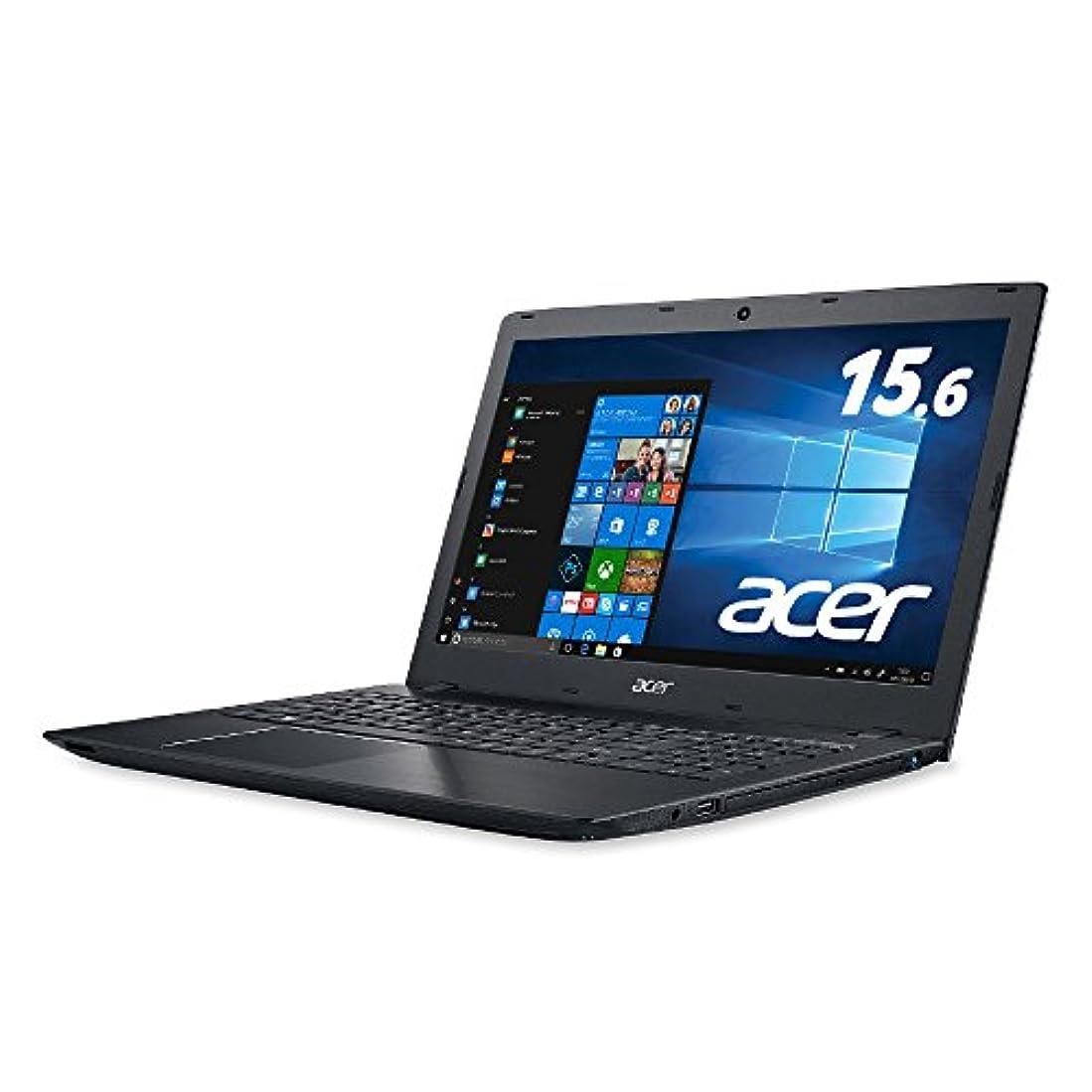 免疫するインク練習Acer ノートパソコンAspire Core i5-7200U/15.6インチ/8GB/256G SSD/DVD±R/RW ドライブ/Windows 10/ブラック E5-576-F58U/K