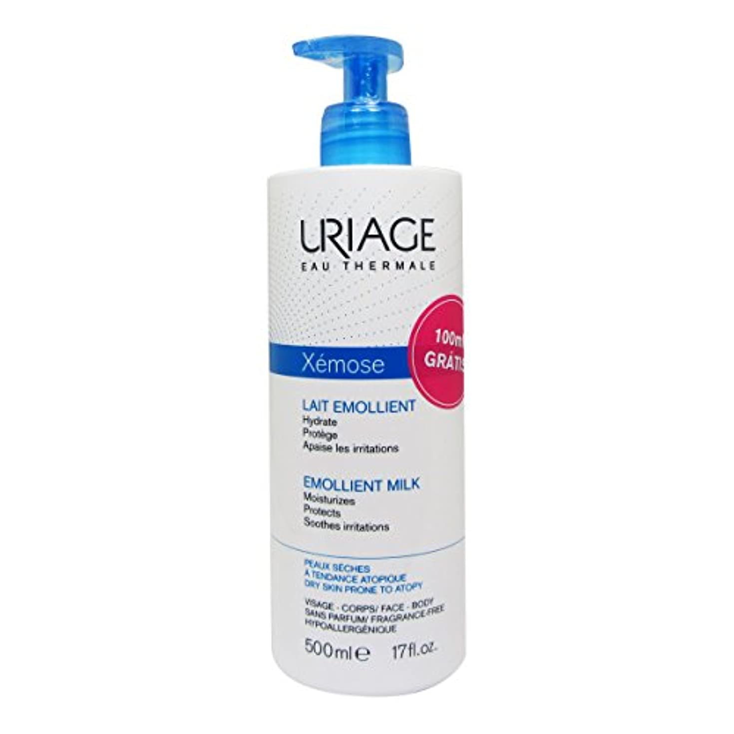 Uriage Xemose Emolliente Milk 500ml [並行輸入品]