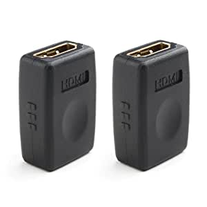 Cable Matters 金メッキコネクタ搭載 HDMI メス 中継アダプタ(2個セット)