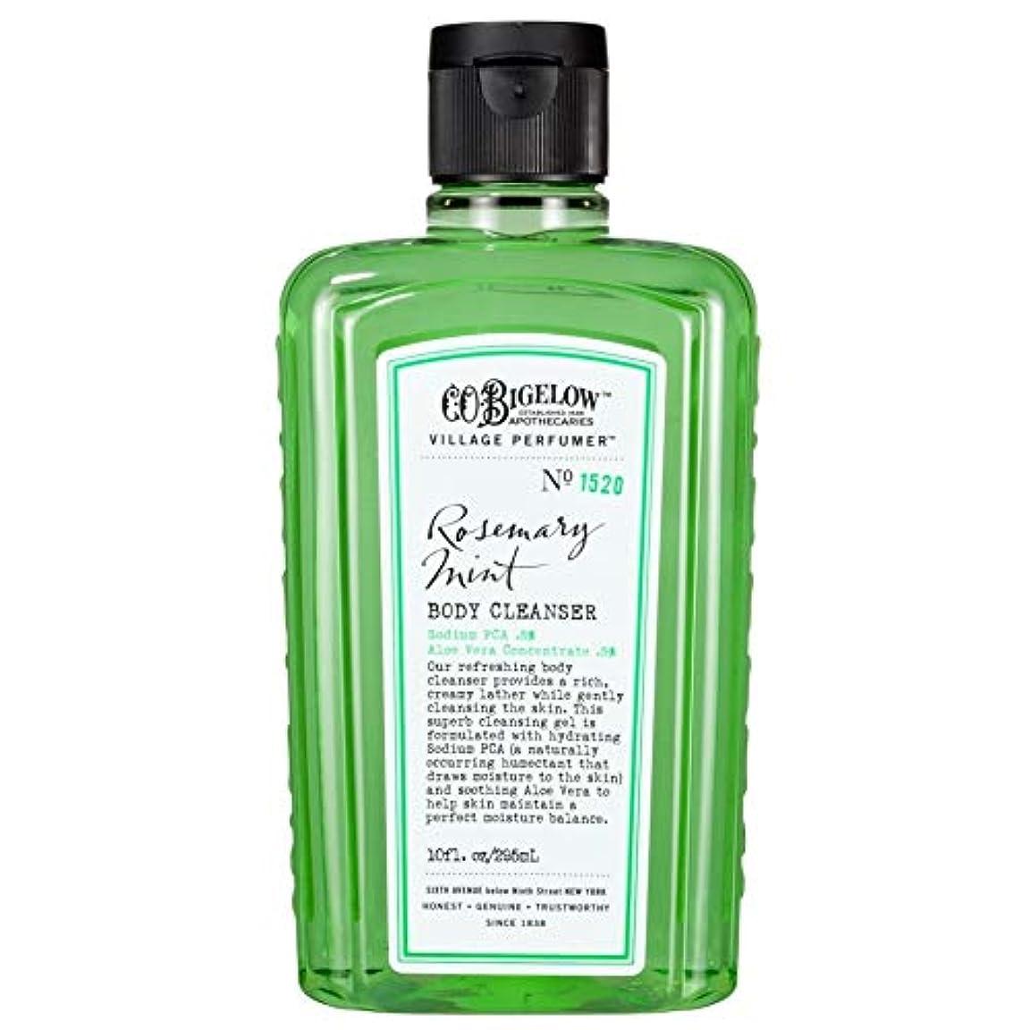過言屋内浅い[C.O. Bigelow] C.O.ビゲローローズマリーミントボディクレンザー - C.O. Bigelow Rosemary Mint Body Cleanser [並行輸入品]