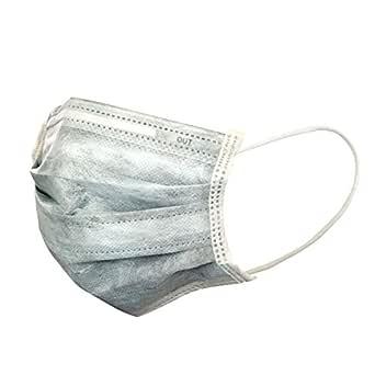 活性炭黒マスク「単価:約82円/300枚」防臭、花粉、粉塵、ウィルス飛沫