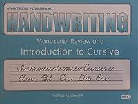 Handwriting: Introduction To Cursive Level M/c