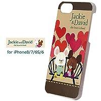 iPhone8 iPhone7 iPhone6S iPhone6 くまのがっこう ハードケース ハード ケース カバー 背面カバー キャラクター the bears' school ジャッキー ディビッド くま ベア グッズ かわいい アイフォン エイト セブン iPhone 8 7 6s 6 スマホカバー スマホケース s-gd_7a972