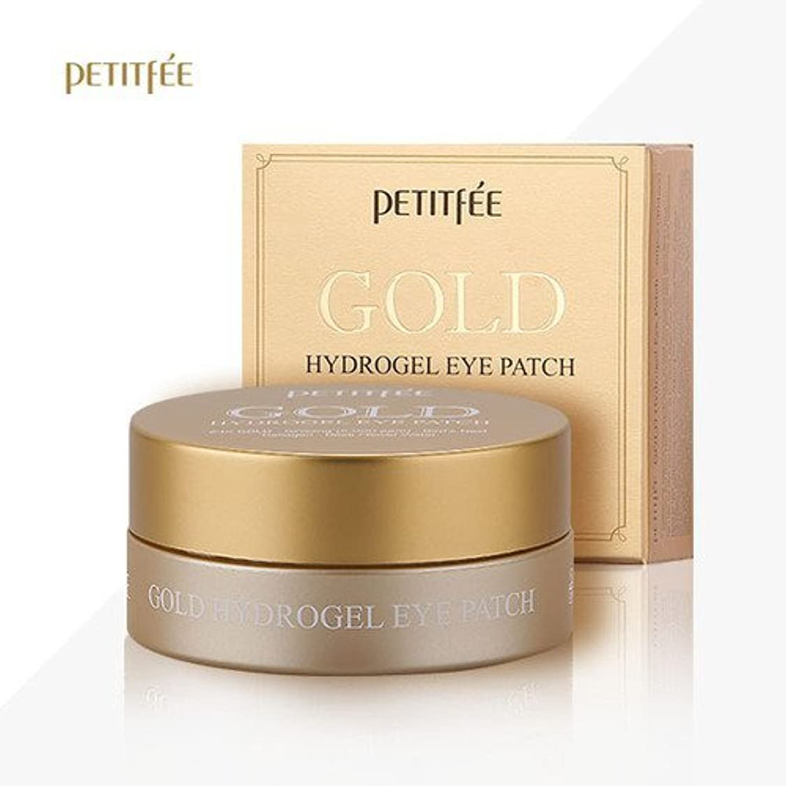 波紋払い戻し隣人PETITFEE(プチペ)ゴールドハイドロゲルアイパチ(60枚)/ Petitfee Gold Hydrogel Eye Patch (60Sheets) [並行輸入品]