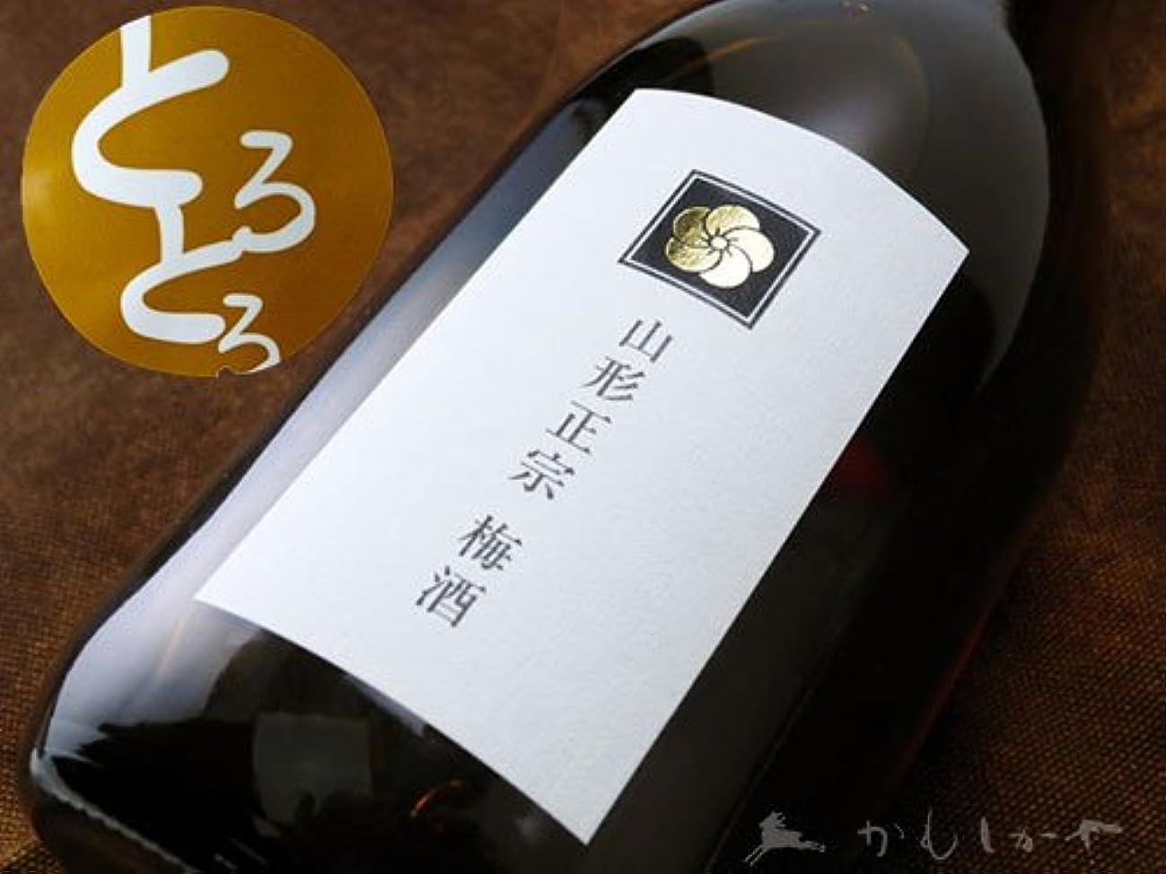 スクラップブック全能櫛山形県 水戸部酒造 山形正宗【やまがたまさむね】 とろとろ梅酒 1800ml
