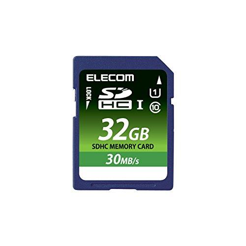 【2015年モデル】エレコム SDHCメモリカード 32GB UHS-1 U1 データ復旧サービス MF-FS032GU11LRA
