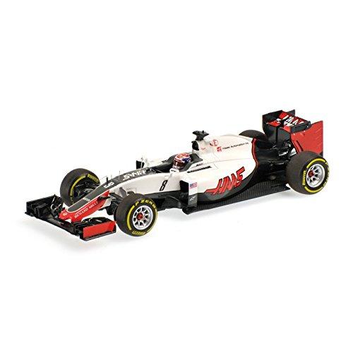 ☆ ミニチャンプス 1/43 ハース F1チーム フェラーリ VF-16 2016 F1 #8 R.グロージャン