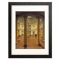 Efim Thukarinov 「Die Rotunde im Winterpalast von St.Petersburg.」 額装アート作品