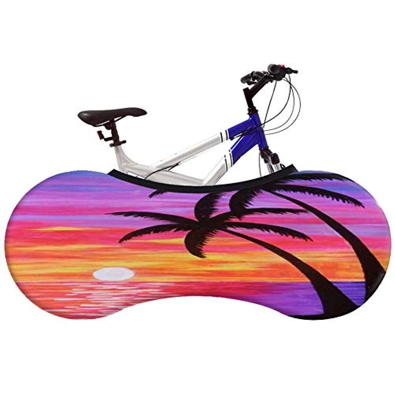 散髪ロータリー一晩屋内マウンテン自転車のホイールカバー洗える弾性タイヤパッケージアンチダストスクラッチプルーフバイク収納袋