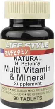 LIFE STYLE マルチビタミン&ミネラル