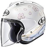 アライ (ARAI) ジェットタイプヘルメット VZ-RAM (VZ-ラム) サクラ (SAKURA) 白 55-56cm VZ-RAM_SAKURA_WH55