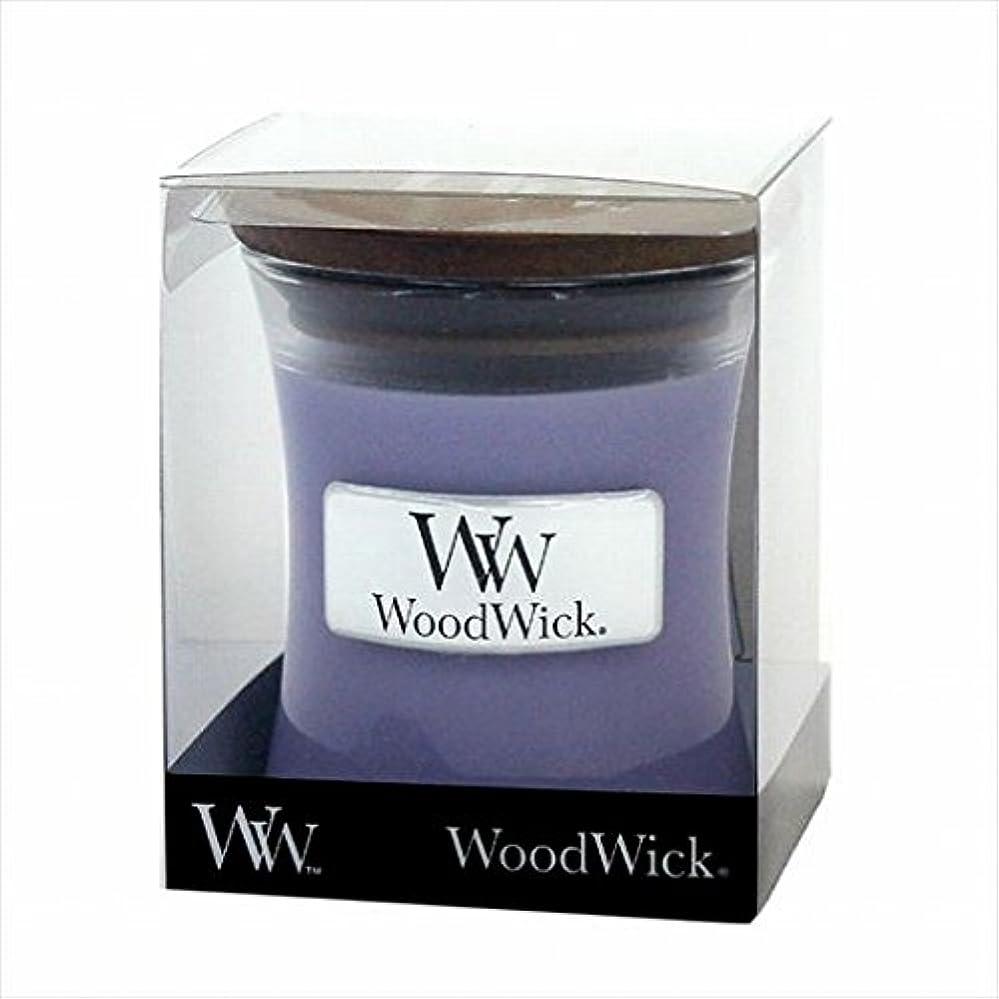 九月ジョブ印象派カメヤマキャンドル( kameyama candle ) Wood Wick ジャーS 「 ラベンダースパ 」