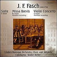 3 Works: Suite / Missa Brevis / Violin Concerto