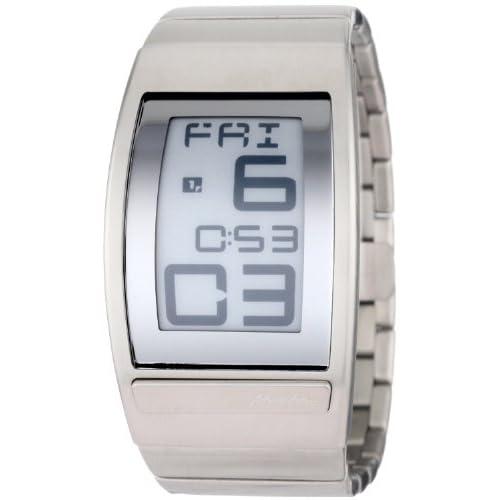 Phosphor フォスファー Men's WC04 World Time Curved E-INK Metal ブレスレットウォッチ 男性用 メンズ 腕時計 (並行輸入)