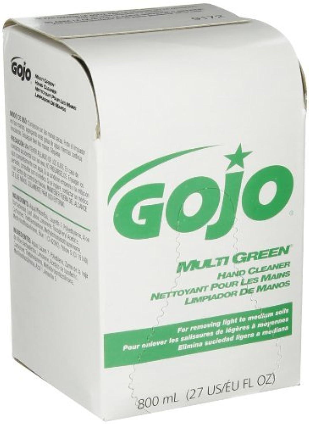サービスリサイクルする余裕があるGOJO 800 Series MULTI GREEN Hand Cleaner,with Natural Pumice Scrubbers,800 mL Hand Cleaner Refill for 800 Series...
