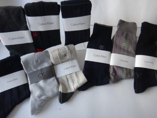 靴下 Calvin Klein カジュアルソックス 5足組アソート