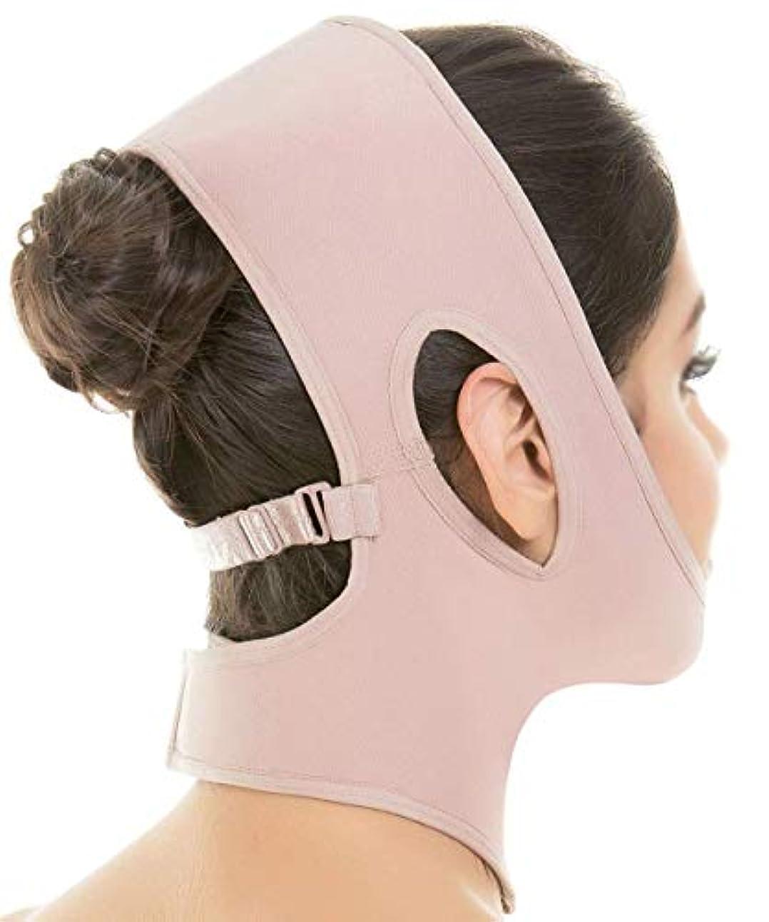 追加する乳消化器フェイスリフトマスク、シリコンVフェイスマスクリフティングフェイスマスクフェイスリフティングアーティファクトリフティングダブルチン術後包帯フェイスアンドネックリフト(カラー:ブラック),褐色