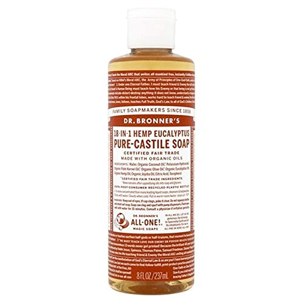 入浴眼立証する[Dr Bronner] Dr。ブロナーズ有機ユーカリの純粋な-カスティーリャ液体石鹸237ミリリットル - Dr. Bronner's Organic Eucalyptus Pure-Castile Liquid Soap...