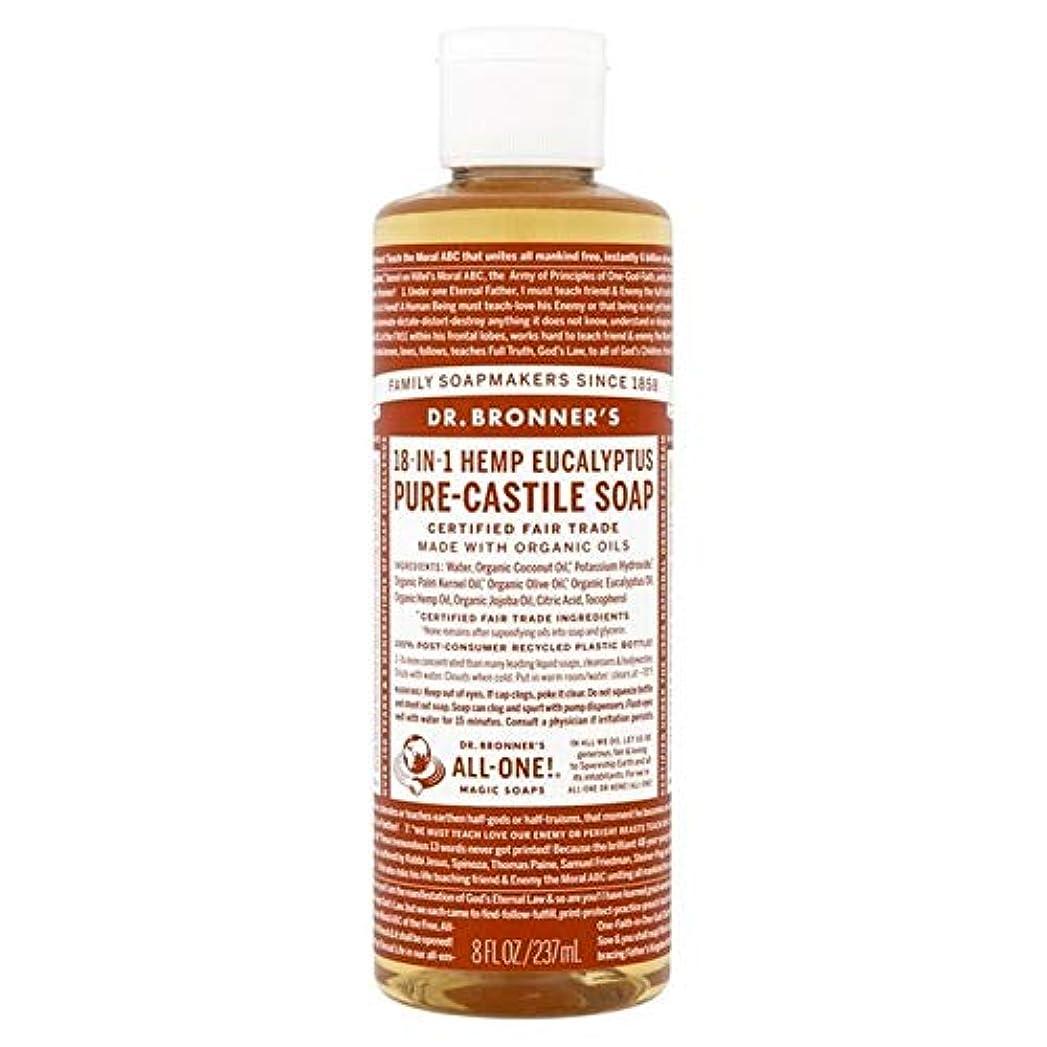 見つけたやさしい成功する[Dr Bronner] Dr。ブロナーズ有機ユーカリの純粋な-カスティーリャ液体石鹸237ミリリットル - Dr. Bronner's Organic Eucalyptus Pure-Castile Liquid Soap...