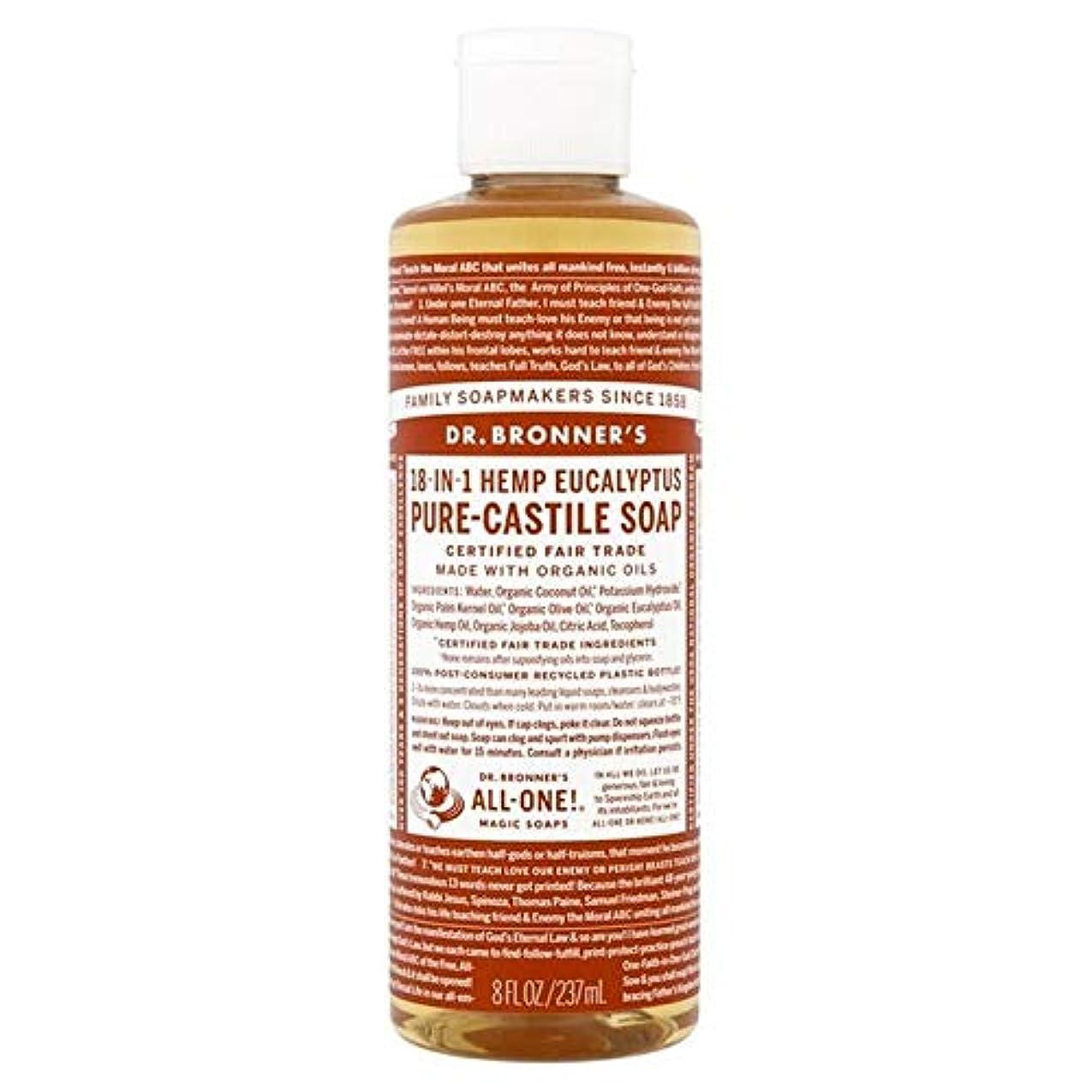 ライトニングコメンテーター妖精[Dr Bronner] Dr。ブロナーズ有機ユーカリの純粋な-カスティーリャ液体石鹸237ミリリットル - Dr. Bronner's Organic Eucalyptus Pure-Castile Liquid Soap...